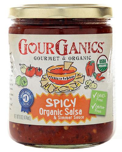 Spicy Gourganics Salsa
